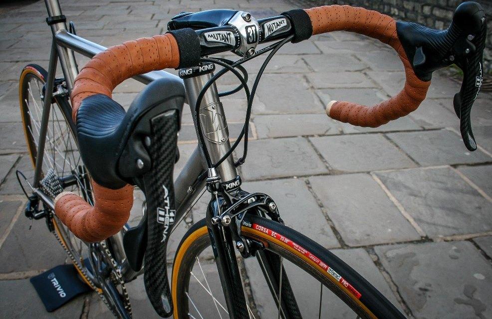 Classic titanium road bicycle | Wittson | Custom Titanium ...