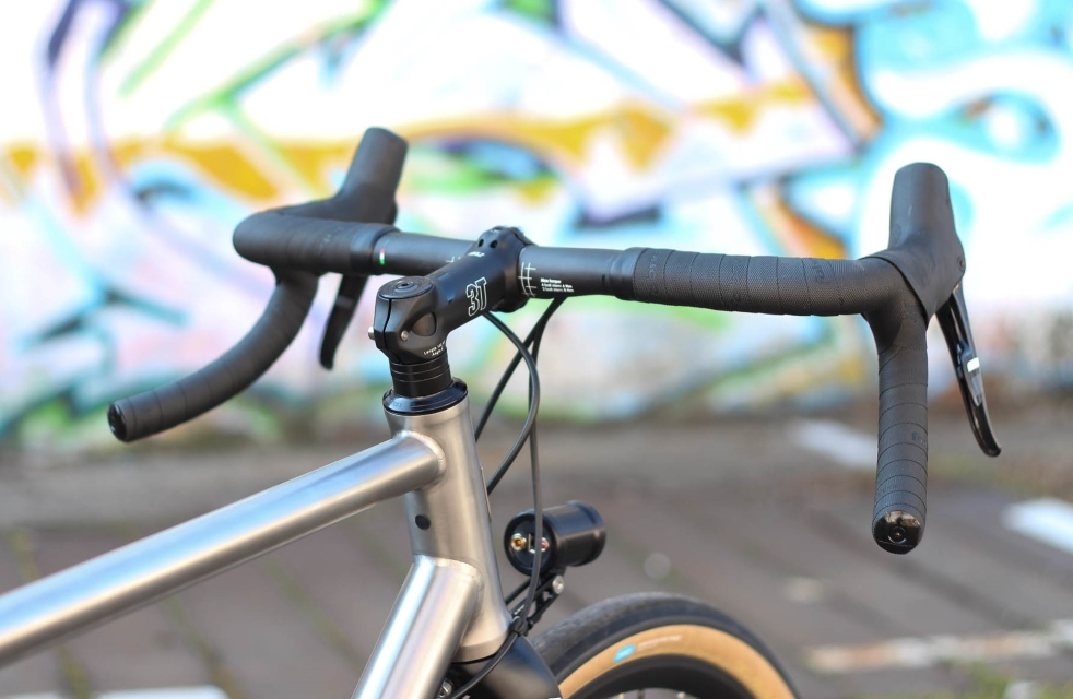 Carbon gravel handlebar 3T Superghiaia Team Stealth