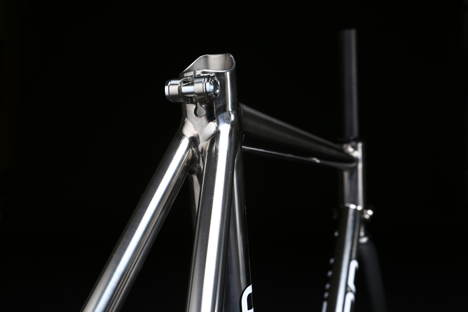 mirror polished titanium bicycle campagnolo clamp