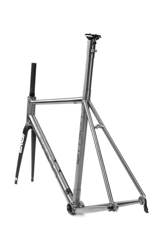 Titanium road race frame wittson suppresio