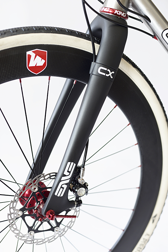 "Enve Cross Disc 1.5"" Tapered Carbon"