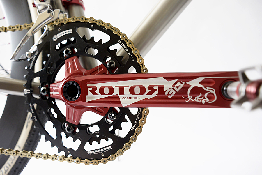 Rotor 3D Cobo Limited Edition Crank Set