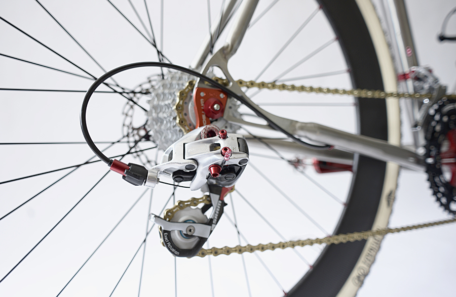 Sram Red Rear Derailleur Tacx Jockey Wheels