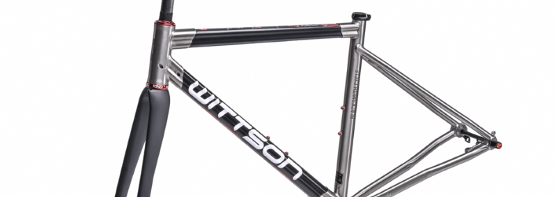 titanium frame with carbon tubes