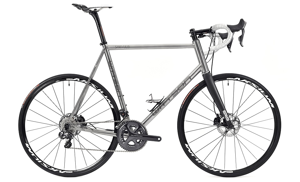 Titanium road disc bicycle with Ultegra Di2 groupset | Wittson