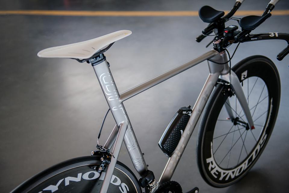 Titanium Triathlon Bicycle With Sram Red Etap Aero
