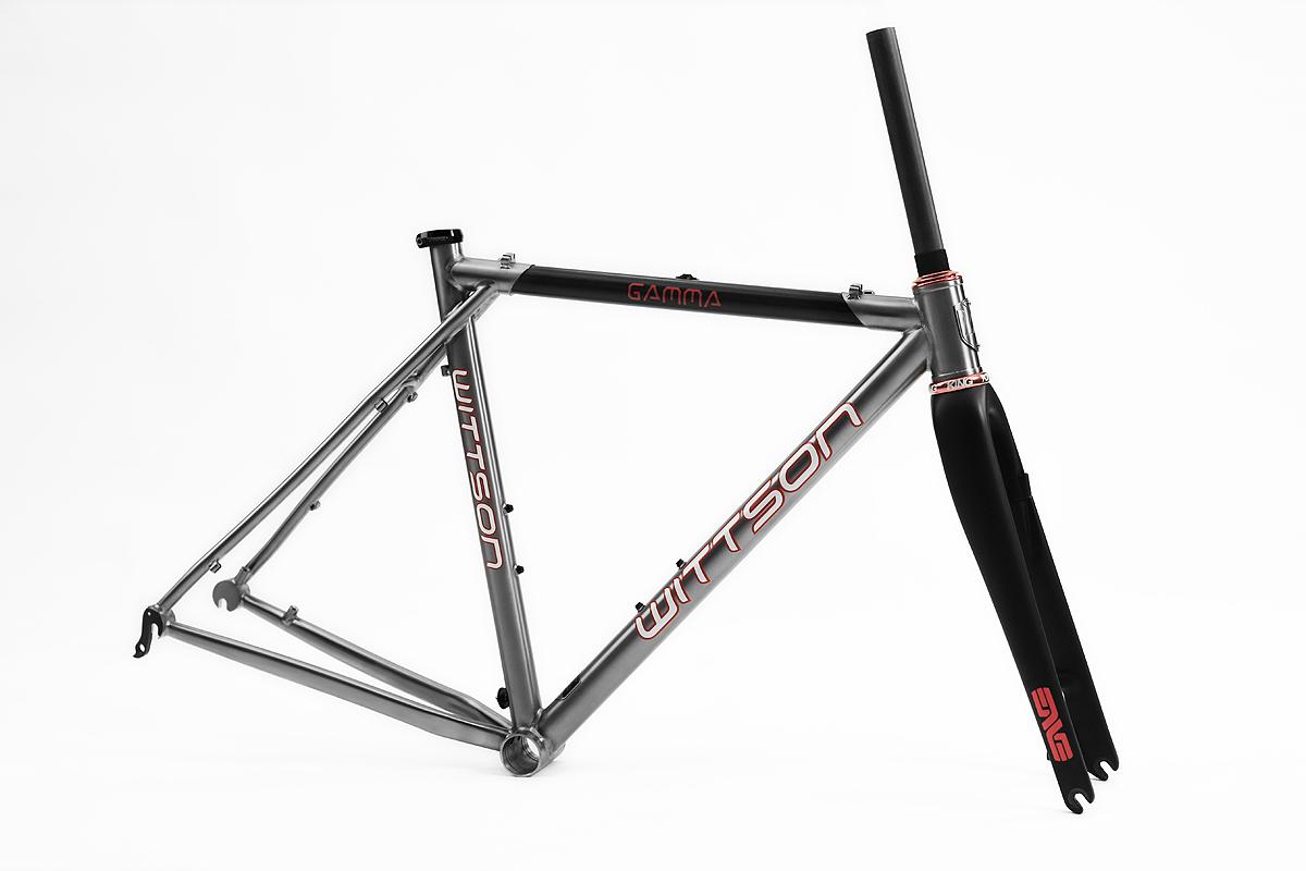 Custom titanium cyclocross disc frame set | Wittson | Custom ...